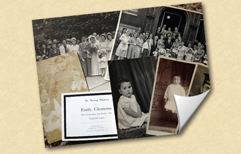 Packages for Family History | Family Trees | Genealogist | Family Tree Researcher | Lisa Dunbar